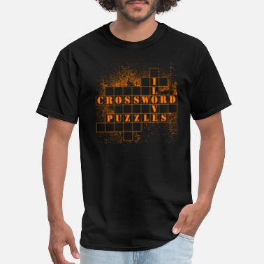 Puzzles Crossword Puzzles Tshirt - Men's T-Shirt