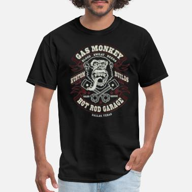 Gas GAS MONKEY LOGO - Men's T-Shirt