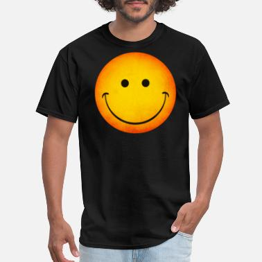 Happy Face Smiling Happy Face Emoji - Men's T-Shirt