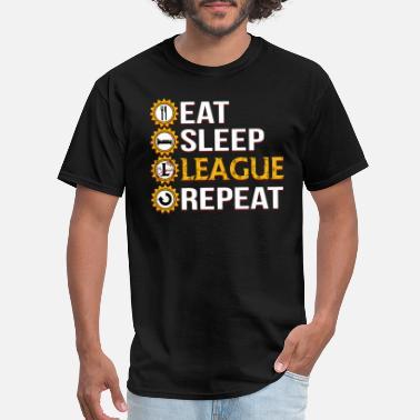 6f7889afc5dd0 League Of Legends League Of Legends Eat Sleep League Repeat - Men's.  Men's T-Shirt