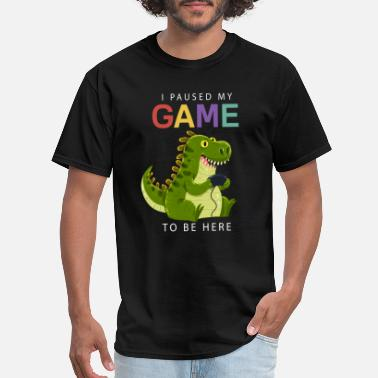 I paused my game to be here t shirt XB Controller - Men's T-Shirt