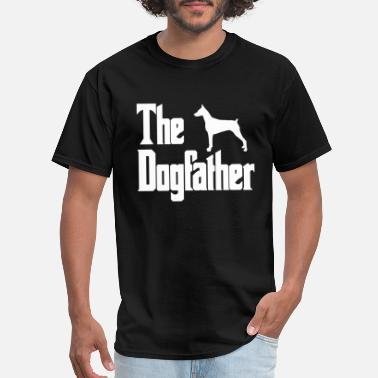 The Dogfather The dogfather shirt schnauzer - Men's T-Shirt