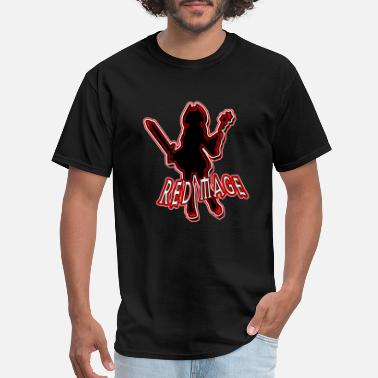 White Mage Red Mage - Men's T-Shirt