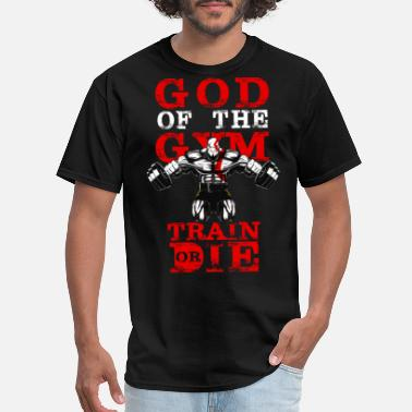 God Gym GOD OF THE GYM - Men's T-Shirt