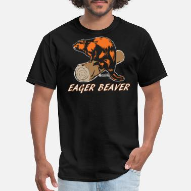Beaver College Eager Beaver - Men's T-Shirt