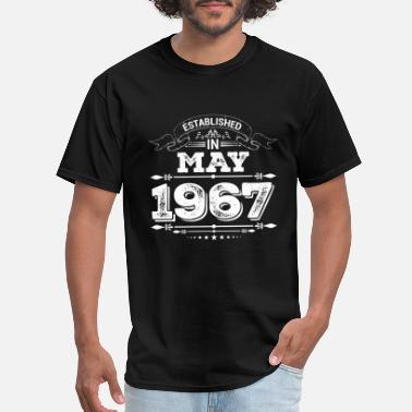 1967 Present Established in May 1967 Present - Men's T-Shirt