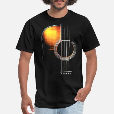 Guitar GUITAR ART music relax favorite best friend guitar - Men's T-Shirt