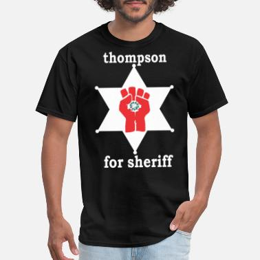 Welcome To Las Vegas Thompson For Sheriff Graphic Tees for MenWomen C - Men's T-Shirt