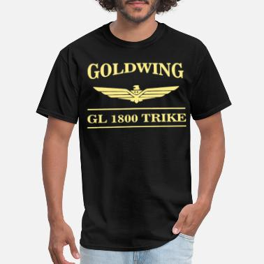 Trike GOLDWING TRIKE BAR LOGO TEE SHORT OR LONG SLEEVE M - Men's T-Shirt