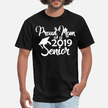 Senior Mom Proud Mom of a Senior Graduation for Mom Graduatio - Men's T-Shirt