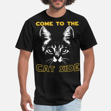 Whore Cat come to the cat side cat - Men's T-Shirt