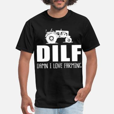 Damn I Love Football ! Men T-Shirt D.I.L.F