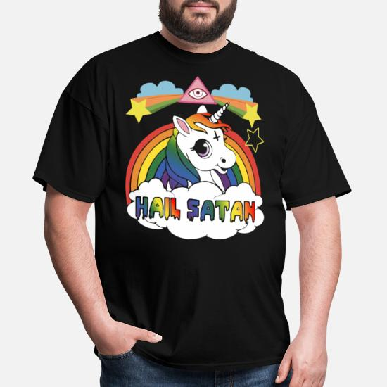 2c31d1cb hail satan offensive t shirts Men's T-Shirt | Spreadshirt