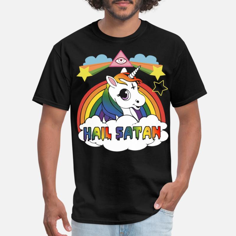 35f3559a Shop Satan T-Shirts online | Spreadshirt