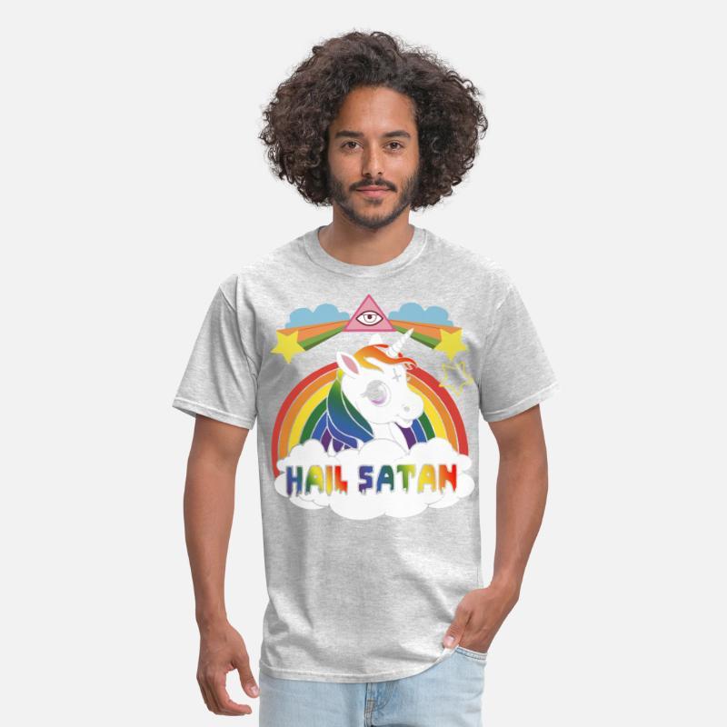 17bb027cb hail satan offensive t shirts Men's T-Shirt   Spreadshirt