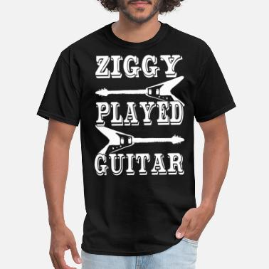 Stardust David Bowie Ziggy Stardust Ziggy Played Guitar - Men's T-Shirt
