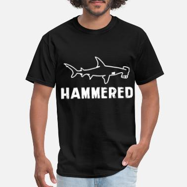 Hammer Shark hammered shark - Men's T-Shirt