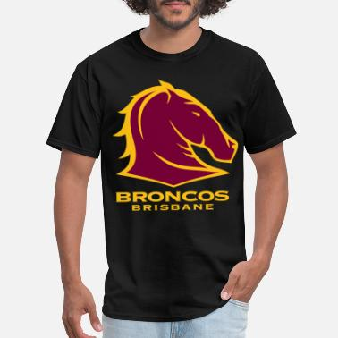 Tank Whore BRISBANE BRONCOS NRL TEAM LOGO PET TANK CAT OR DOG - Men's T-Shirt