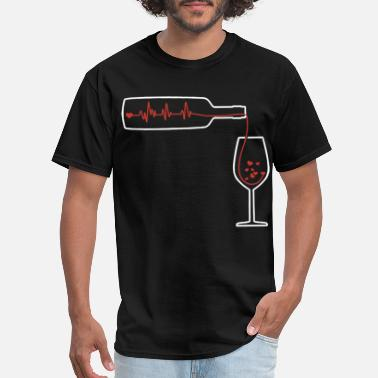 Canadian Drinking HEARTBEAT beer tSHIRTs - Men's T-Shirt