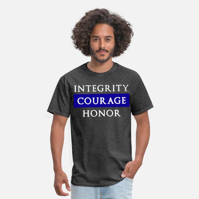 d6ce9401 Thin Blue Line Mens Grunt Style Short Sleeve Polic Men's T-Shirt |  Spreadshirt