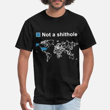 Timmy not a shithole american trump t shirts - Men's T-Shirt