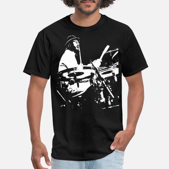 2b66118f5f20a John Bonham Led Zeppelin drummer drum kit Ludwig d Men's T-Shirt ...