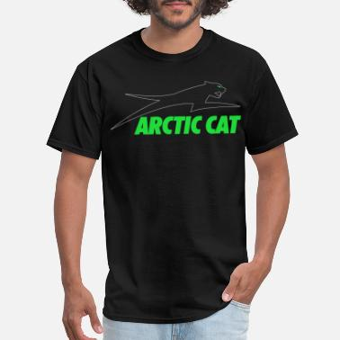 Cat ARCTIC CAT HOODIE SWEAT UTV ATV SLED PROWLER SIDE - Men's T-Shirt
