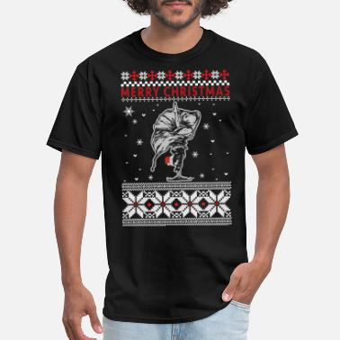 Plie Chasse Jete All Day Ballet B Ballet - Ugly Christmas Sweater - Men's T-Shirt