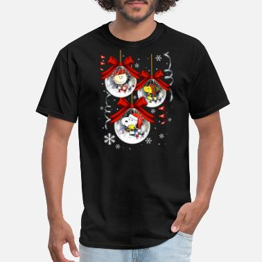 merry christmas festival december beautiful cute d - Men's T-Shirt