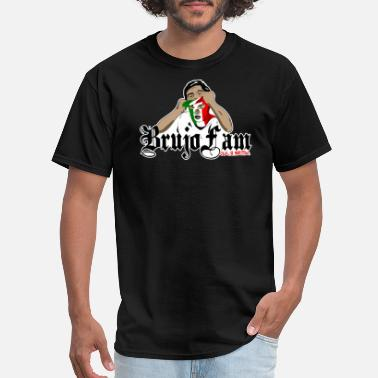 BrujoFam - Mexican Flag - Men's T-Shirt