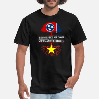 Proud Vietnamese Roots Tennessee Grown with Vietnamese Roots Vietnam - Men's T-Shirt