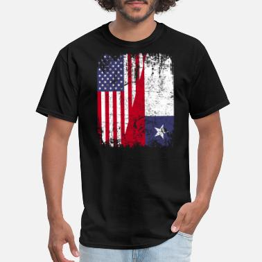 Chile Roots CHILEAN ROOTS | American Flag | CHILE - Men's T-Shirt