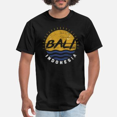 Ubud Bali Indonesia Island Beach Surfing Kuta Ubud Gift - Men's T-Shirt