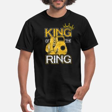 Ring Sport Boxing Sports Fighter Boxing Gloves Boxer Ring - Men's T-Shirt