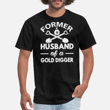 Digger Funny Divorced - Men's T-Shirt