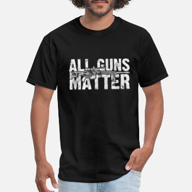 Rights All Guns Matter 2nd Amendment Political Gift - Men's T-Shirt