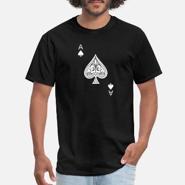 Ace Of Spades Funny Ace of Spades - Men's T-Shirt