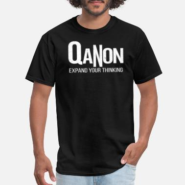 Expand Your Thinking QANON EXPAND YOUR THINKING - Men's T-Shirt