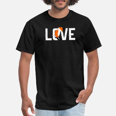 Fox Love Geek Love Foxes Fox Shirt - Men's T-Shirt