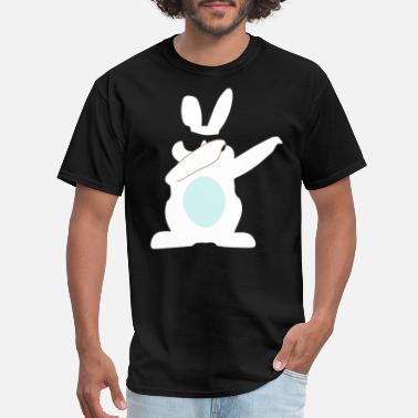 Easter Boy Dapping Easter Bunny for Boys Girls adult - Men's T-Shirt