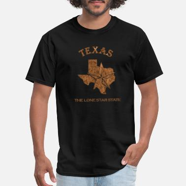 My Home State Texas State Is My Home Longhorn Design 4 - Men's T-Shirt