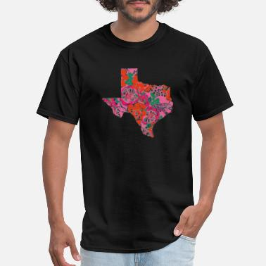 My Home State Texas State Is My Home Longhorn Design 13 - Men's T-Shirt