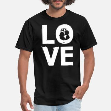 Love Is Four Letter Word LOVE - Four letter word gift idea - Men's T-Shirt