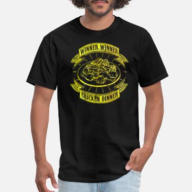 Winner Winner Winner Chicken Dinner - PUBG - Men's T-Shirt