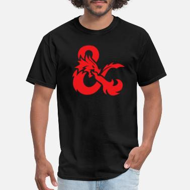 Science Dragonfly Red Dragon - Men's T-Shirt