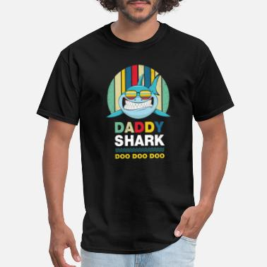 Daddy Daddy shark doo doo doo - Men's T-Shirt