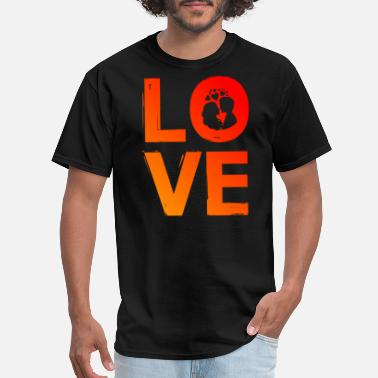 Love Is Four Letter Word LOVE word art - four letter word gift idea - Men's T-Shirt