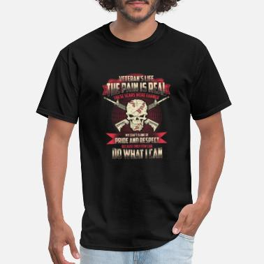 Respect My Craft Veteran - My craft is one of pride and respect - Men's T-Shirt