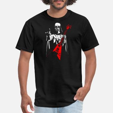 Darth Heavy Metal Darth Vader - Men's T-Shirt