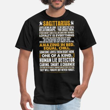 Sagittarius Sagittarius Amazing In Bed - Men's T-Shirt